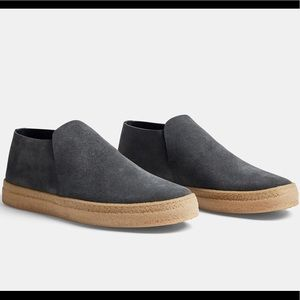 James Perse Venice Suede Slip-Ons
